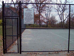Chain-Link Fence