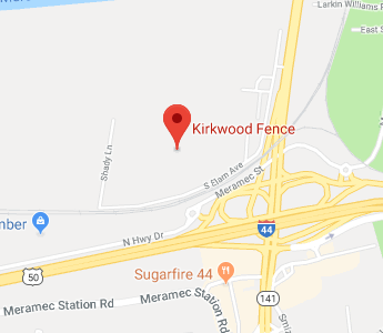Kirkwood Fence Location